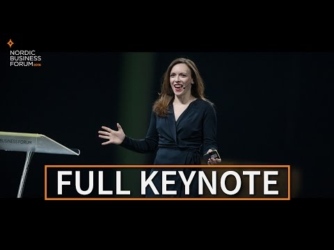Jessica Jackley – KIVA and New Business Thinking | Nordic Business Forum 2016