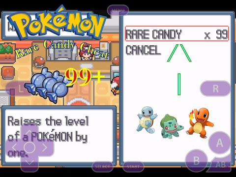 Pokemon Rare Candy And Master Ball Cheat Funnycat Tv