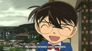 Funny moment in Lupin III vs Detective Conan movie part 1