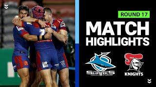 Knights v Sharks | Round 17 2020 | Telstra Premiership | NRL