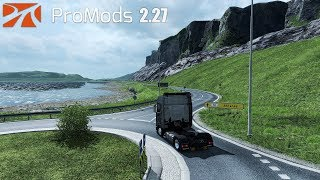 ✅ ETS2 1.31- ProMods 2.27 and Scania S Series Low Chassis