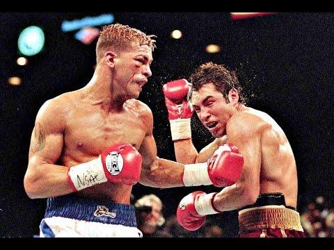 Видео: Бокс. Артуро Гатти - Оскар Де Ла Хойя (ком. Гендлин) Oscar De La Hoya vs Arturo Gatti