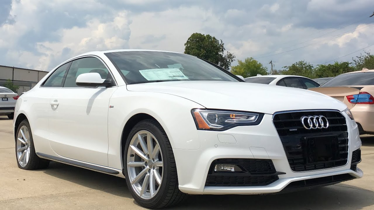 Used Audi A5 >> 2017 Audi A5 Sport REVIEW, Start Up, Exhaust - YouTube