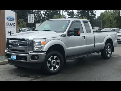 2016 Ford F-250 LARIAT 908A 6.2L SuperCab Review| Island Ford