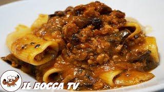 568 - Pasta funghi e salsiccia...come accendere una miccia! (primo di terra gustoso e facile)