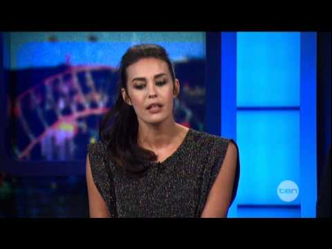 Megan Gale  on The Project 2012