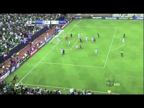 Honduras Vs. Mexico (0-2) 2011 CONCACAF Gold Cup (Semi-Final)