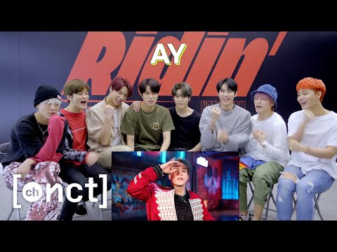 nct-127-reaction-to-'ridin'-mv-|-nct-127-➫-nct-dream