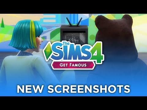 New Get Famous Screenshots & Images! 🎬🌟 — The Sims 4 News & Info