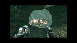 TUROK (PS3) gigantosaurio & tiranosaurio rex