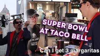 I WATCHED THE SUPER BOWL AT TACO BELL | Donnie Does Super Bowl Monday