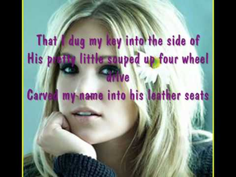 Before He Cheats by Carrie Underwood lyrics