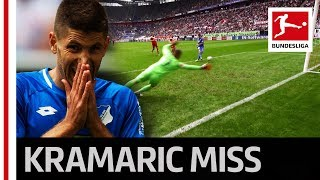 World Cup Runner-Up Kramaric Misses Open Goal