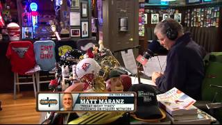 Matt Maranz On The Dan Patrick Show (Full Interview) 1/16/14