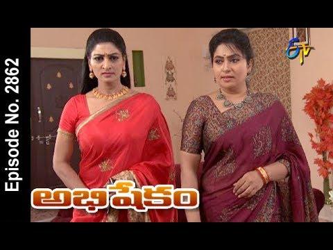 Abhishekam | 20th  March 2018| Full Episode No 2862 | ETV Telugu