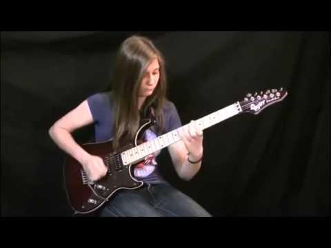 【ギター神業】14歳女子の超絶ヴァン・ヘイレン