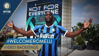 #WELCOMEROMELU | VIDEO BACKSTAGE | Romelu Lukaku 📹⚫🔵🇧🇪