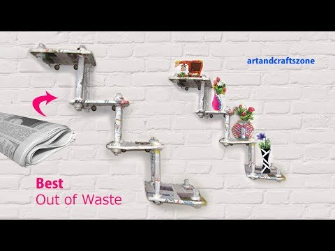 DIY CRAFTS FOR ROOM DECOR || CARDBOARD FURNITURE || DIY Room Decorating Ideas|| Newspaper  Craft