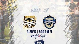 Charleston Battery vs Charlotte Independence full match
