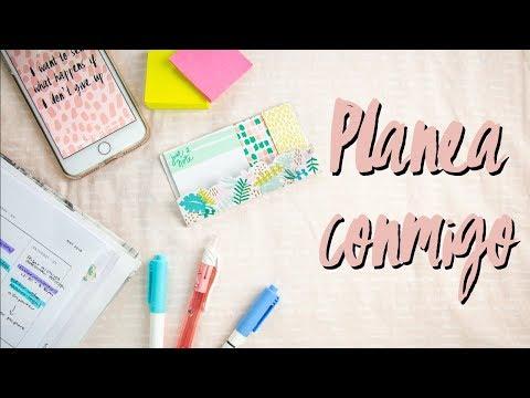 Planea conmigo: Cómo organizar tu semana | 8va Avenida