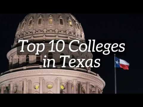 Top 10 Colleges in Texas
