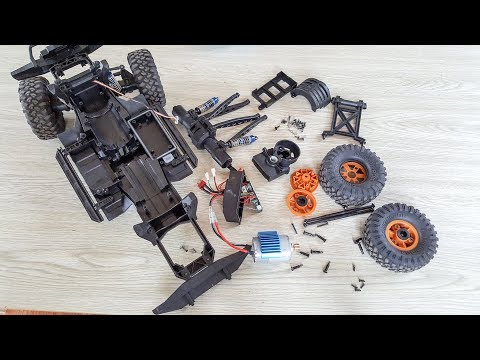 HB Toys ZP1001 - Traxxas TRX4 Clone - RC Car Disassembly