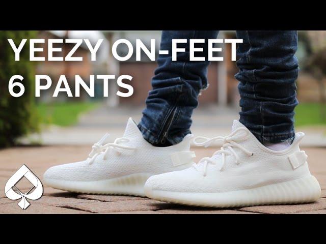 Adidas Cream White YEEZY BOOST 350 v2
