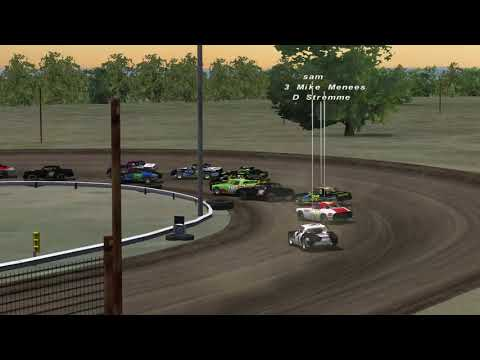 Rfactor CRO racing league, 75 laps at Sheyenne River Speedway, DWD Street stocks