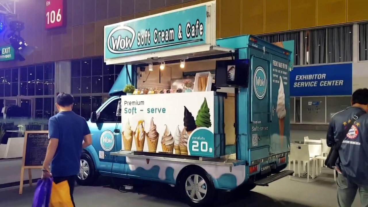 Suzuki Carry Food Truck ราคารวมตกแต่ง 540,000 บาท