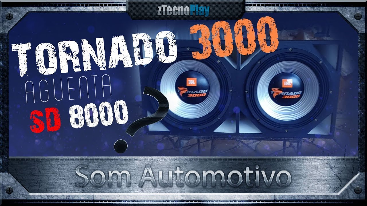 3ce69ec91ed Caixa Full Trap 2 tornados 3000 + SD 8000 e Bateria MaxPower 400Ah ...