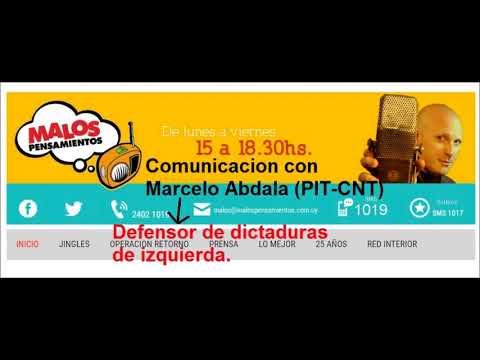Petinatti llama a Marcelo Abdala del PIT-CNT por video apoyando a Lula.