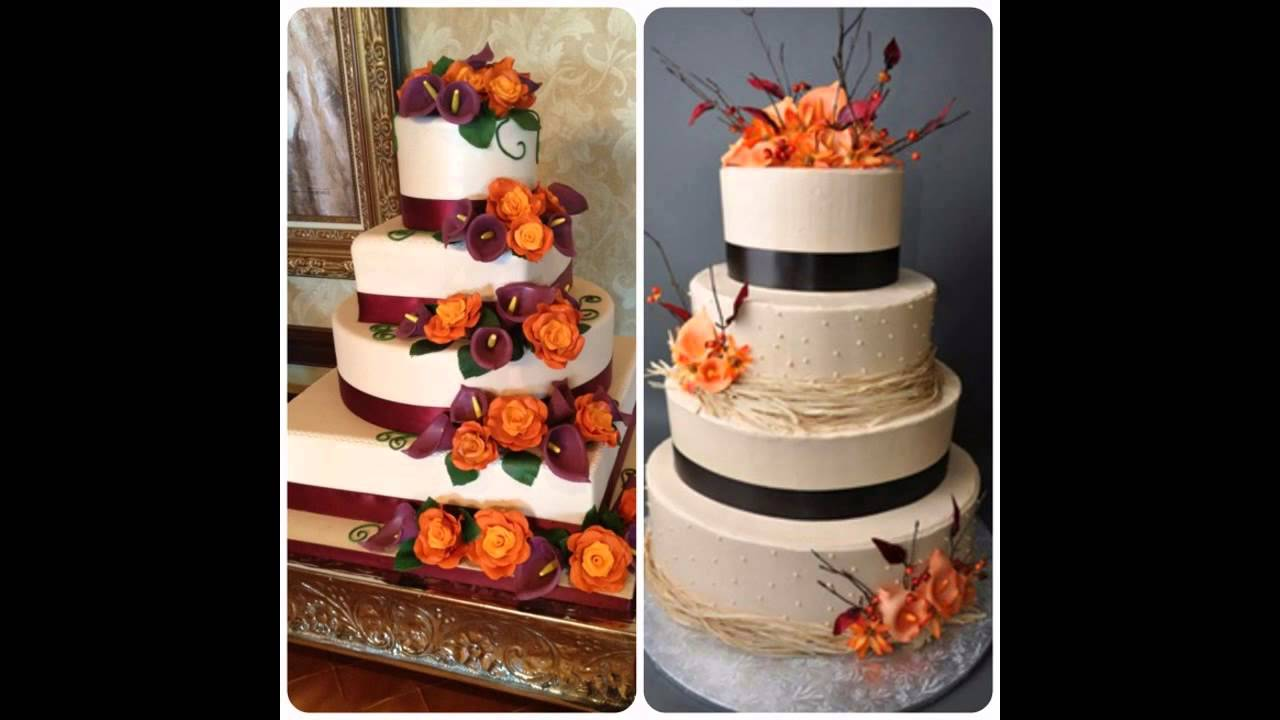 Easy Fall cake ideas YouTube