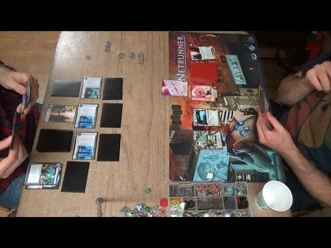 SanSan Francisco Netrunner - January Games of Berkeley #1 - HB: ETF vs Kate
