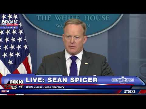 FULL: Sean Spicer White House Press Briefing 2/7/17 (FNN)