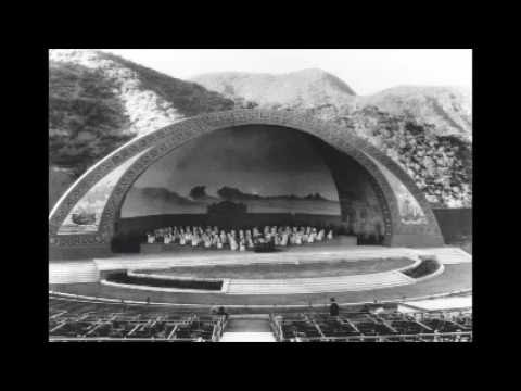 Hollywood Bowl 100 Years In Pictures Anniversary 2012 Los Angeles California History