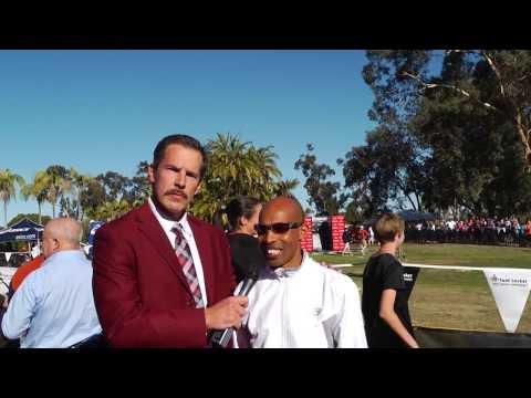 Ron Burgundy Interview with Meb Keflezighi the 2014 Boston Marathon Champion