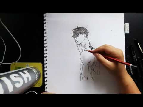 Speed drawing (19 days) Old Xian