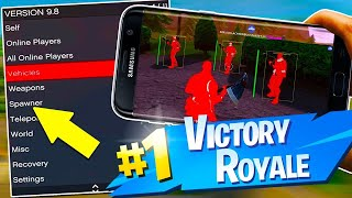 SAIU😱 Fortnite Mobile Mod Menu Hack/Mod Apk - Aimbot, Wallhack, Godmode! SEM ROOT