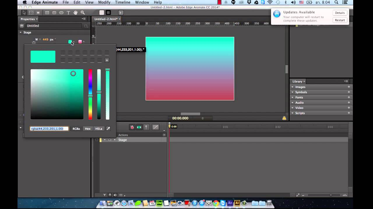 adobe edge animate 2 config stage