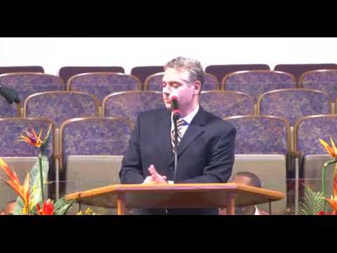 Aaron Goldstein at West Point Missionary Baptist Church in Chicago
