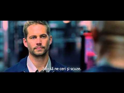 FAST & FURIOUS 6 (2013). Trailer subtitrat în română