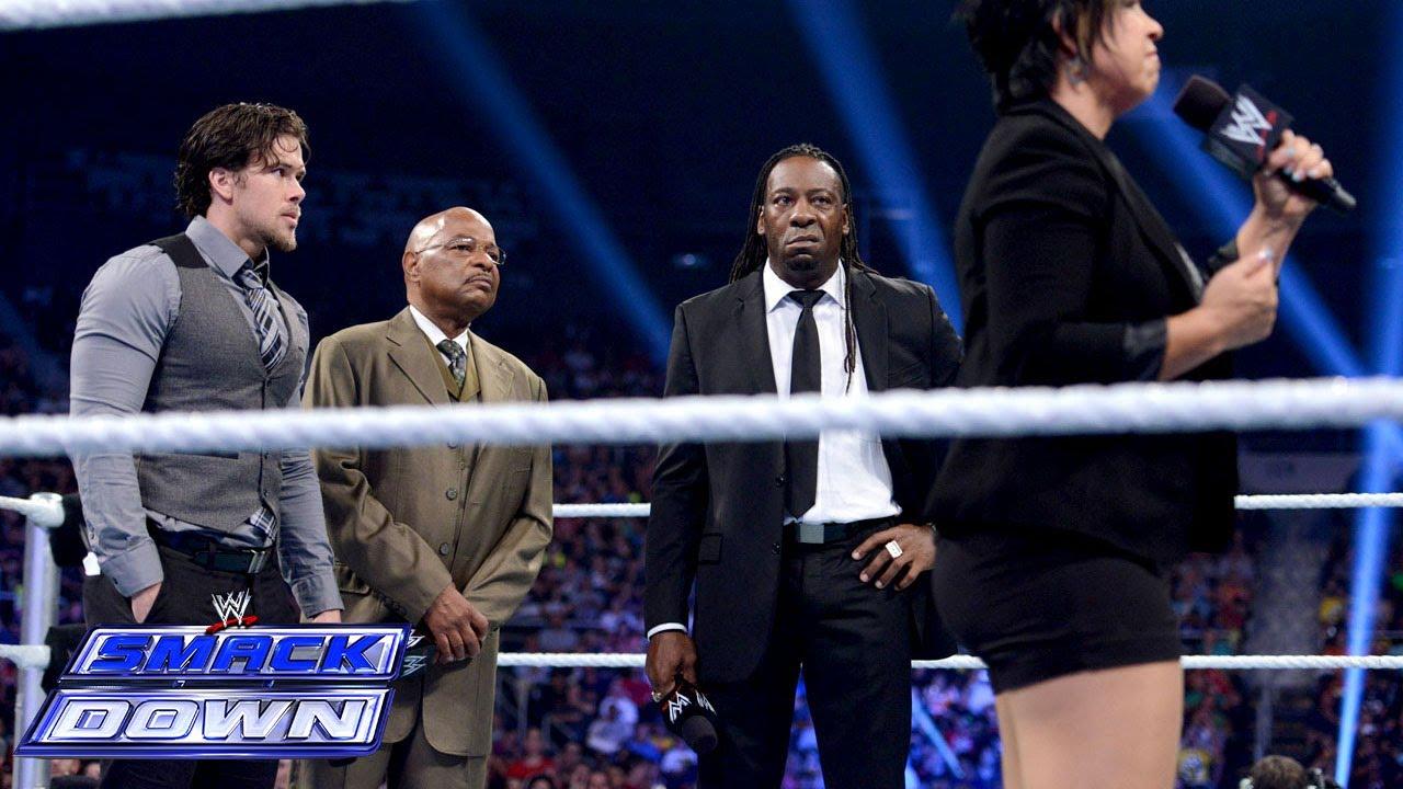 Mr. McMahon announces SmackDown's permanent General ...