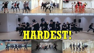 THE REALLY HARDEST CHOREOGRAPHIES ON K-POP