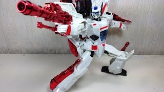 Jetfire Leader Class Transformers Generations Toy Review