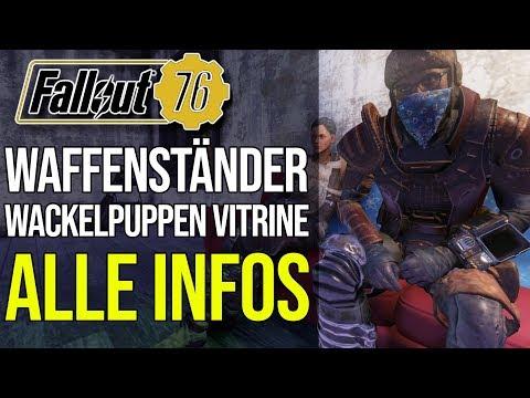 Waffenständer, Wackelpuppen Vitrine, PvP Ranking und mehr | Fallout 76 thumbnail