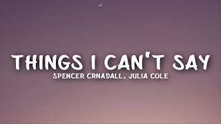 Play Things I Can't Say (feat. Julia Cole)