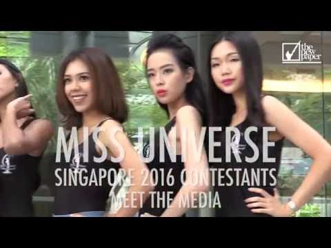 Miss Universe Singapore 2016 contestants meet the media