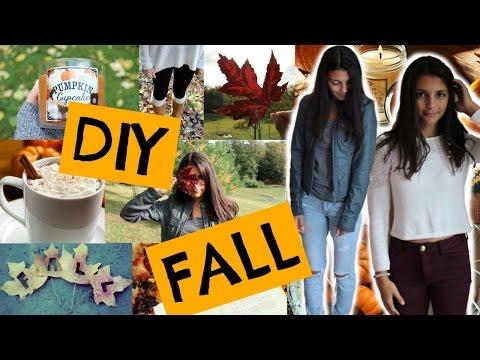 DIY Fall Inspiration - Room Decor, Outfits, + More!