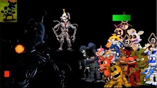 - FNaF World the return to evil Beta