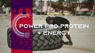 Product promo  POWER PRO PROTEIN & ENERGY BAR by Naturetech